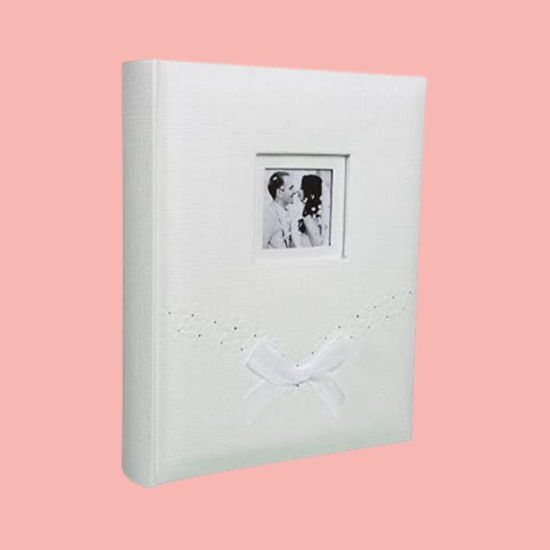 album de fotos blanco