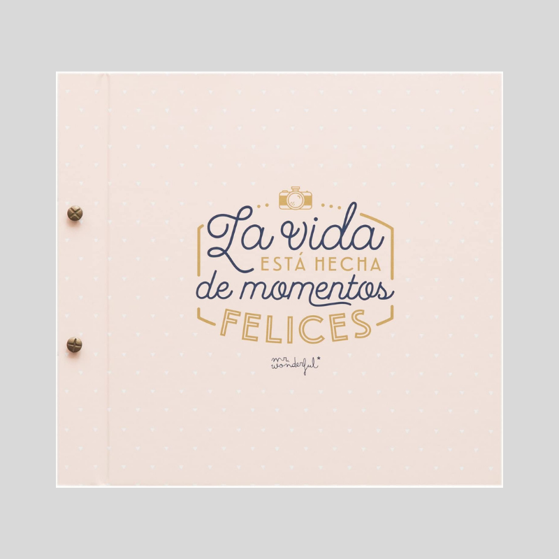 album de fotos mr wonderful