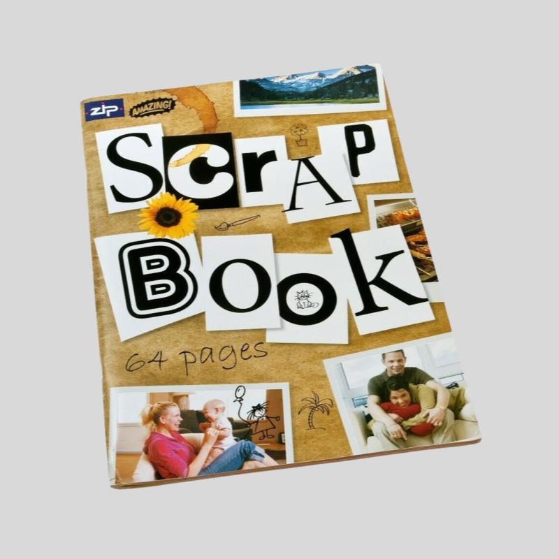 album de fotos scrapbook